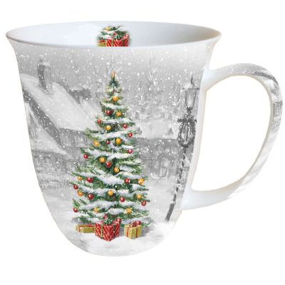 Mug Noël - Tree on square - Ambiente