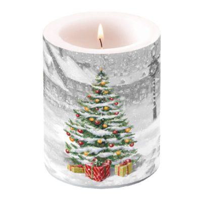 Bougie grand format - Tree on square - Ambiente
