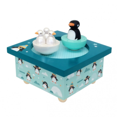 Boîte à musique - Dancing - Pingouins - Trousselier