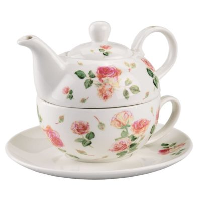 Tea for one - Rose blanche - Ambiente