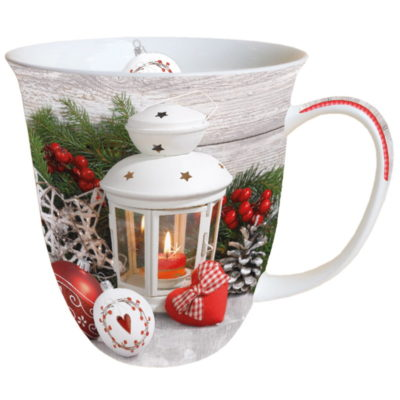 Mug Noël - White Lantern - Ambiente