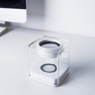 Ilo Speaker, l'enceinte Bluetooth, lumineuse et blanche, de Xoopar