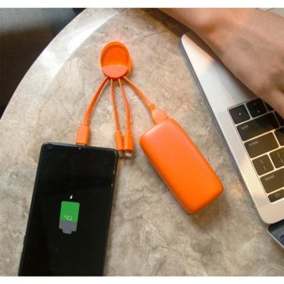 Weekender, LE Pack de charge de 5000 mAh, Orange de Xoopar