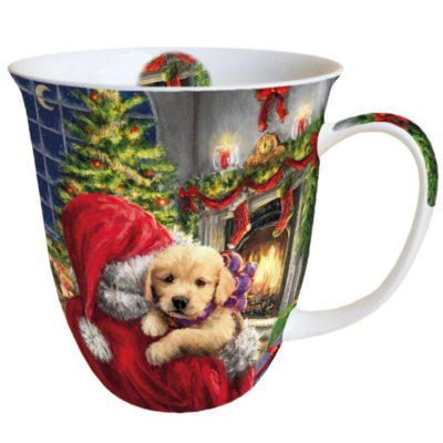 Mug - Puppy at fire - Ambiente