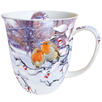 Mug - Robins on branch - Ambiente