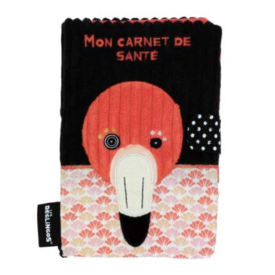Protège carnet de santé - Flamingos le flamant rose - Les Déglingos