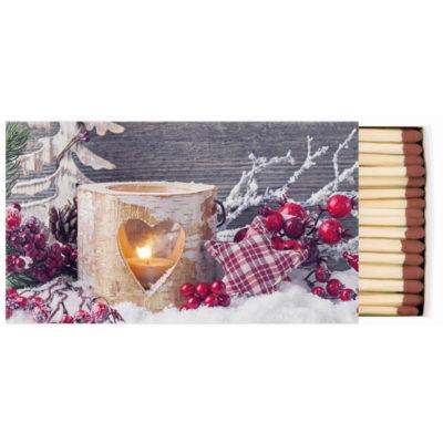 Boîte d'allumettes - Birch candle - Ambiente