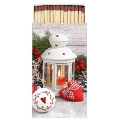 Boîte d'allumettes - White lantern - Ambiente