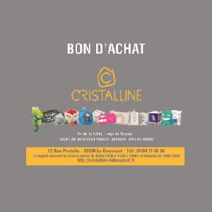 Cristalline - Bon cadeau
