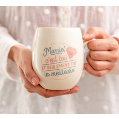 Mug céramique - Mamie, c'est toi et seulement toi la meilleure - Mr Wonderful