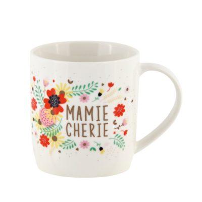 Mug livré avec sa boite, LEMAN Mamie chérie, Derrière La Porte