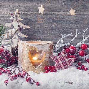 Les serviettes papiers de Noel - La feerie de Noël
