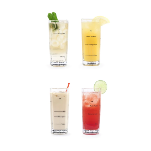 Les coffrets de verres - Cocktails