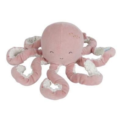 Peluche PieuvreOcean Pink - rose - Little Dutch