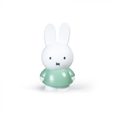 La tirelire - 26 cm - Miffy le lapin - couleur Verte - Stempels Atelier Pierre