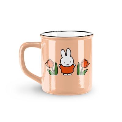 Mug rétro Miffy - Tulipe rose - Stempels Magic touch of the Dutch