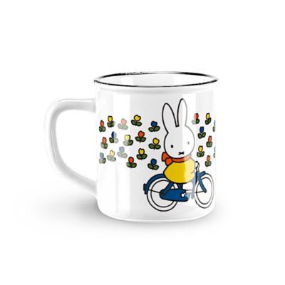Mug rétro Miffy - Vélo - Stempels Magic touch of the Dutch