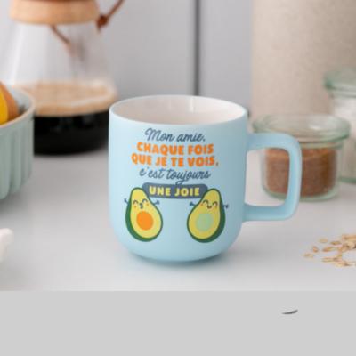 Mug céramique - Chaque fois que je te vois, c'est toujours une joie - Mr Wonderful