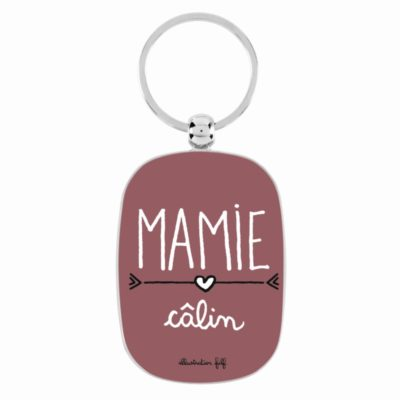 Porte-clés - OPAT - Mamie câlin