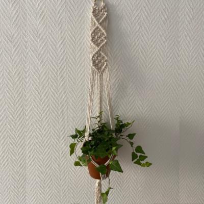 Support pour plante Alice en coton recyclé - Coraliehandmade