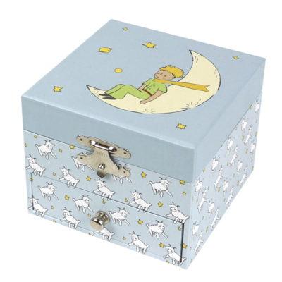 Coffret musique cube Le Petit Prince et mouton - Trousselier