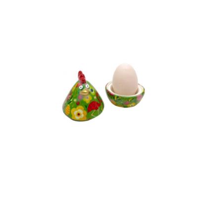Coquetier - Matilda la poule - Vert - Pomme Pidou