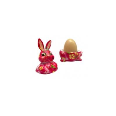 Coquetier - Millie le lapin - Rose - Pomme Pidou
