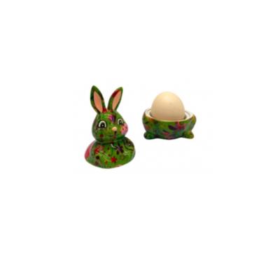Coquetier - Millie le lapin - Vert - Pomme Pidou