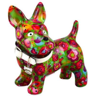 Tirelire - Boomer le chien - Vert - Taille M - Pomme Pidou