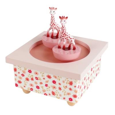 Boîte à musique - Dancing Sophie la Girafe© - Rose - Trousselier