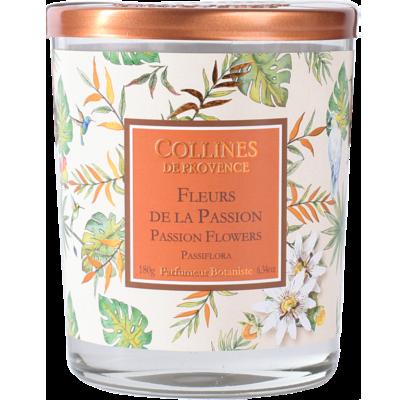Bougie Parfumée 170gr - Fleur de Coco Les estivales - Fleurs des îles - Collines de Provence