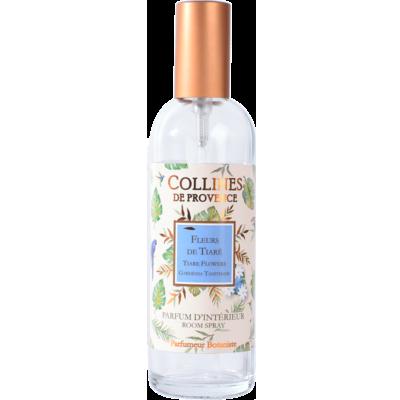 Parfum d'intérieur 100ml, senteur Fleur de Tiaré de Collines de Provence - Les estivales - Fleurs des îles