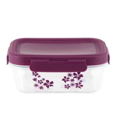 Boîte à lunch isotherme PIERRE - Fleurs exotiques - Derrière la porte