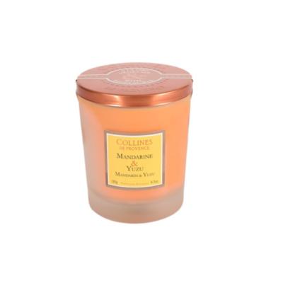Bougie Parfumée 180gr - Mandarine et Yuzu - Duos parfumés - Collines de Provence