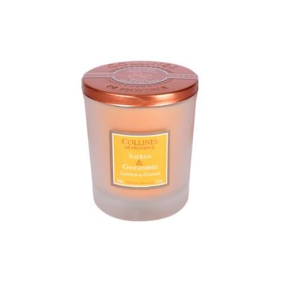 Bougie Parfumée 180gr - Safran et Gingembre - Duos parfumés - Collines de Provence
