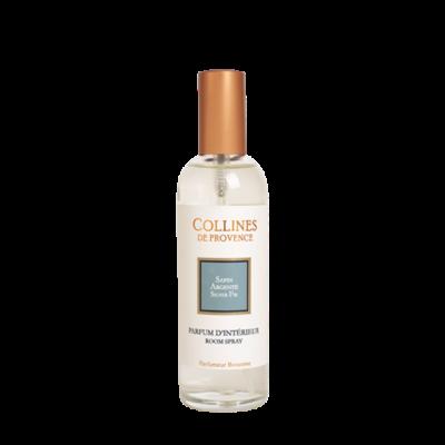 Parfum d'intérieur 100ml, senteur Sapin argenté, de Collines de Provence - Gamme Les naturelles
