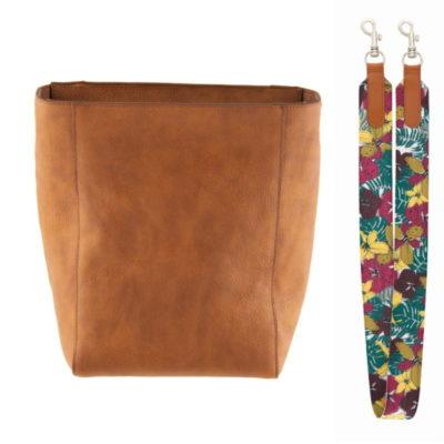 Sac à main XO et sangle de sac CLEMENCE Flower - Derrière la porte