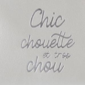 Chic chouette - Derrière La Porte