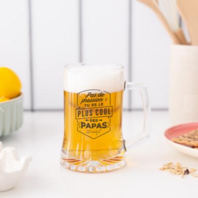 Chope de bière - Tu es le plus cool des papas - Mr Wonderful