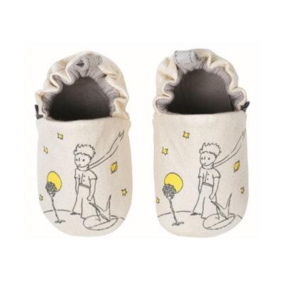 Mes premiers chaussons - Le Petit Prince et le renard - 3-6 MOIS - Petit Prince - Petit Jour Paris