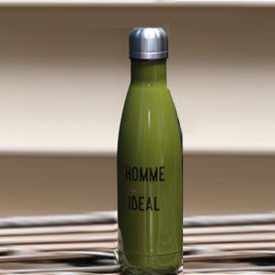 Bouteille isotherme, modèle GUILLAUME, gamme Homme idéal, 485 ml