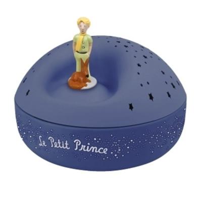 Projecteur d'étoiles musical - le Petit Prince© - Bleu - Trousselier