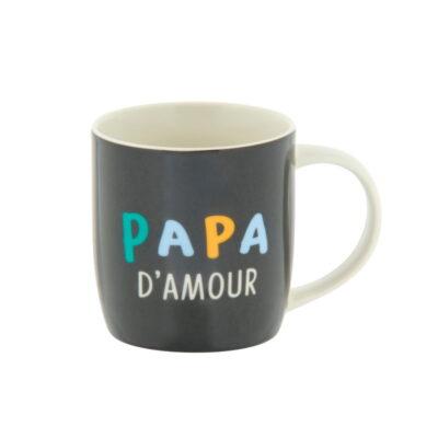 "Mug livré avec sa boite, Modèle LEMAN - gamme ""Papa chéri"", Derrière La Porte"
