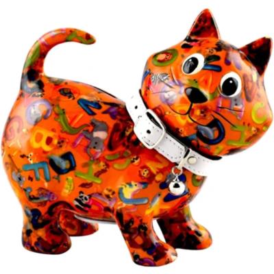 Tirelire - Kiki le chat - Orange - Taille M - Pomme Pidou