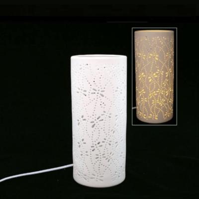 ampe porcelaine Droite - Faye Import
