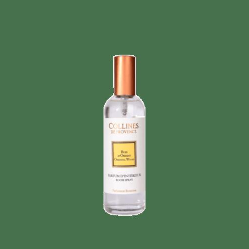 Parfum d'intérieur 100ml, senteur Bois d'Orient, de Collines de Provence - Gamme Les naturelles