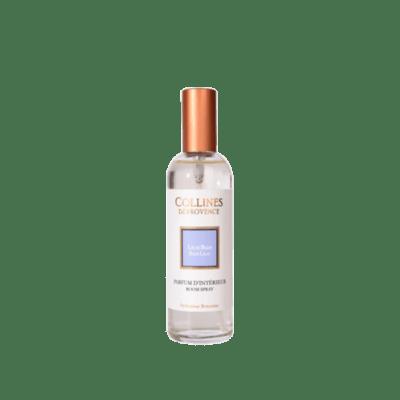 Parfum d'intérieur 100ml, senteur Lilas Bleu, de Collines de Provence - Gamme Les naturelles