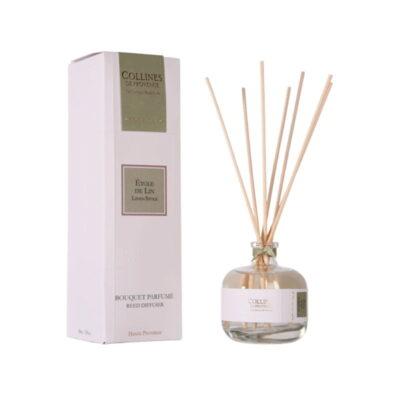 Bouquet parfumé 100ml, senteur Etole de lin, de Collines de Provence - Gamme Couture