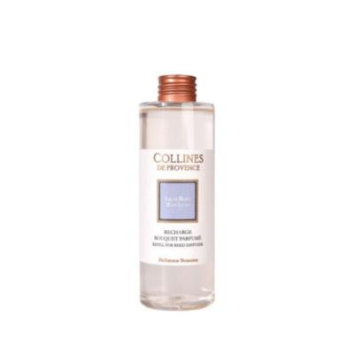 Recharge pour bouquet parfumé 200ml, senteur Lilas Bleu, de Collines de Provence - Gamme Les naturelles