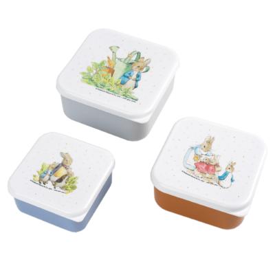 Set de 3 lunch boxes - Peter Lapin - Petit Jour Paris